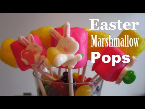 4 Ingedients | 3 Easy Easter Marshmallow Pop Recipes