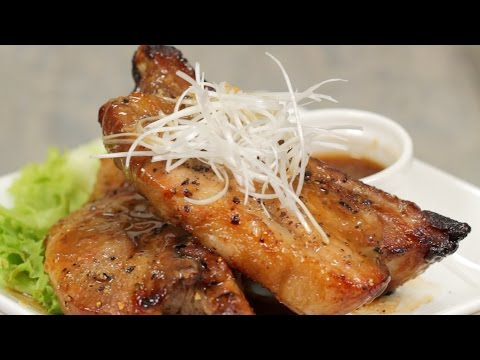Spicy Spare Ribs with Black Vinegar and Honey Recipe | Cooking with Dog