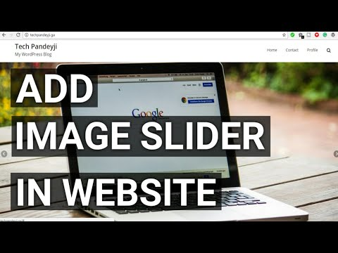 How To Add Image Slider in Wordpress Website [Hindi]