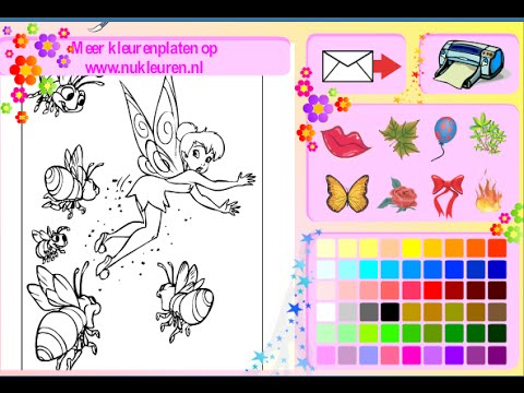 Tinkerbell Coloring Pages For Kids - Tinkerbell Coloring Pages