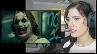 Joker - Official Trailer REACTION 2019