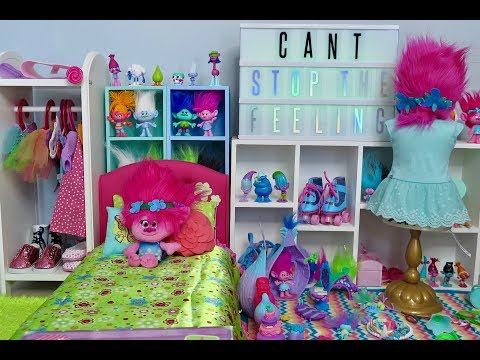 American Girl Doll Trolls Bedroom!