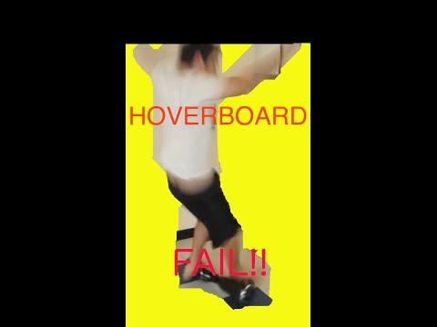 SELF BALANCING HOVER BOARD SEGWAY FAIL!!!!