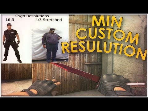 Best CS:GO Resolution !!! Most HD Res for 16:10, and 4:3 Resolutions, Black Bars and Stretched !!!