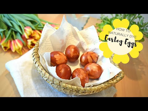 DIY - Naturally Dyed Easter Eggs
