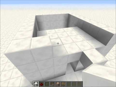 Minecraft: How to build a box that is bigger on the inside(Full Tutorial)