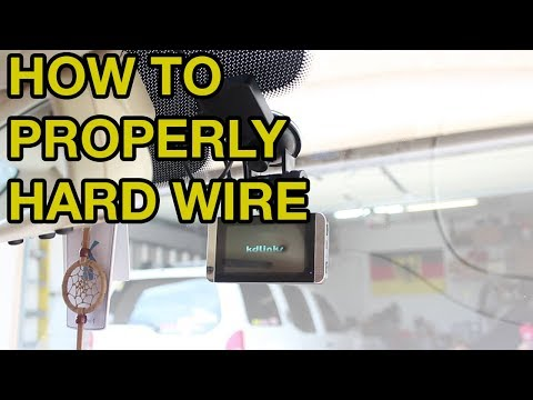 How To Hardwire Your Dash Cam! (Mercedes ML)