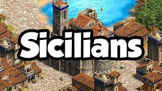 Sicilians overview Aoe2