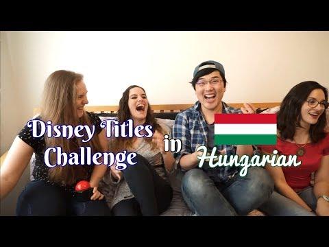 [Language] Disney Titles Challenge - Hungarian Edition (HU)