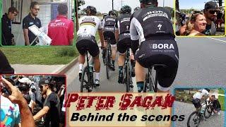 Peter Sagan - behind the scenes
