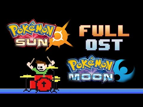 Pokemon Sun and Moon OST! (Drum Cover) -- The8BitDrummer