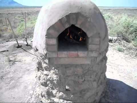 how to build a clay oven