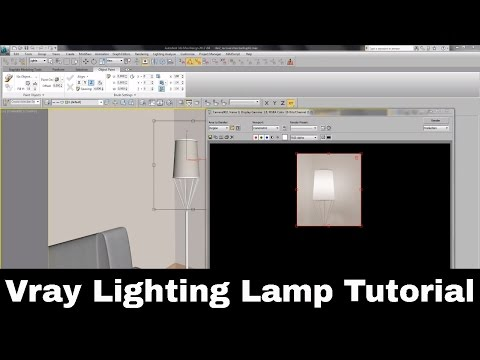 Vray Lighting Lamp Tutorial