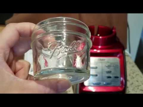 Another Mason Jar Hack w/the Oster Blender: Baby Food Maker