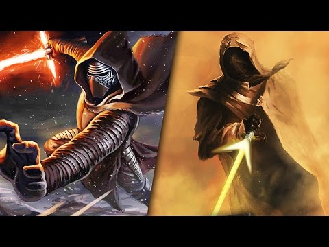 Every Sith and Jedi Who Wielded A Crossguard Lightsaber - Star Wars Revealed | Star Wars HQ
