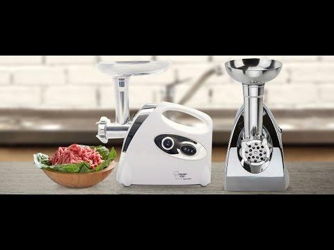 Kitchen Chef Electric Meat Grinder Mincer Stuffer Sausage Filler Sauce Maker