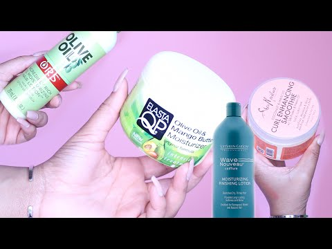 Top 4 Moisturizers for Healthy Relaxed Hair