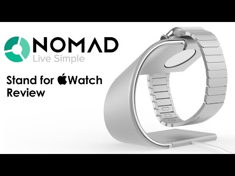 Nomad Stand for Apple Watch Review