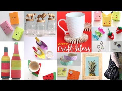 22 Cool Summer Craft Ideas | DIY Projects For Summer | Handcraft