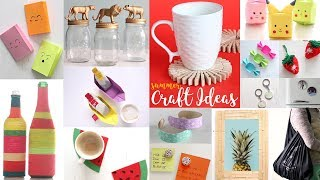 Download 22 Cool Summer Craft Ideas | DIY Projects For Summer | Handcraft Video
