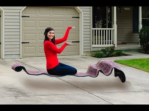 Secret Revealed! How to Levitate on a Magic Carpet!