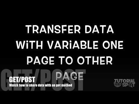 How to pass variable one page to another page or same page | JAVASCRIPT | HTML | TutorialSpot