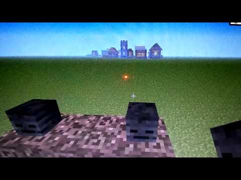 Minecraft: How to spawn the Wither (New boss)