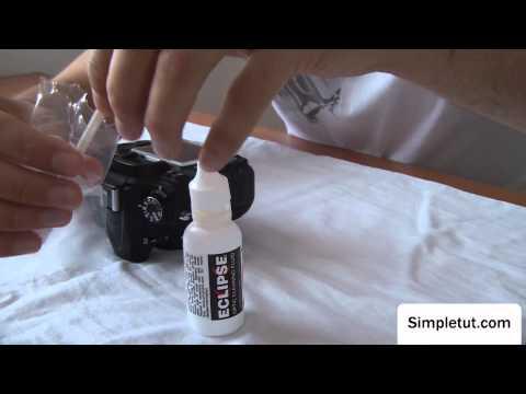 How to Professionally Clean Your DSLR Camera's Sensor – Wet Method, Sensor Swabs, Eclipse