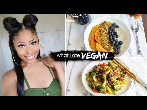 what I eat in a day ➟ GOOD EATIN' VEGAN 🔥