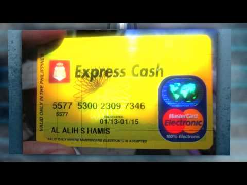 BPI Express Cash MasterCard - Shopbycards