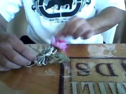 beautiful money butterfly graduation lei lay