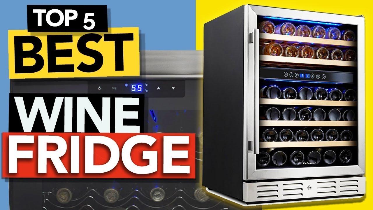 ✅ TOP 5 Best Wine Fridge 2021 | Budget Wine Cooler review