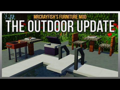 MrCrayfish's Furniture Mod: The Outdoor Update Showcase!