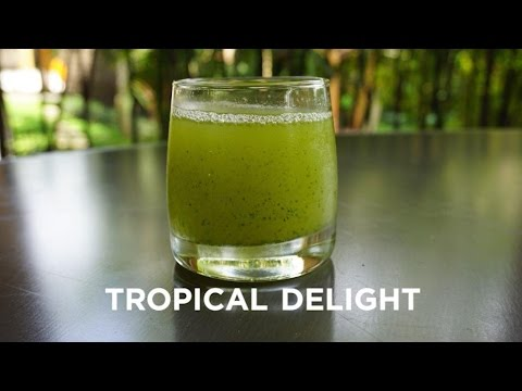 Tropical Delight Drink | How to make a tropical drink
