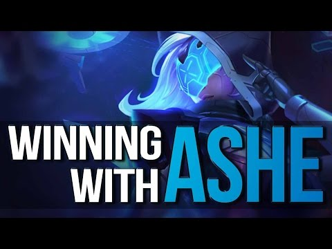 WINNING WITH ASHE - Complete Guide to ASHE ADC  (League of Legends)