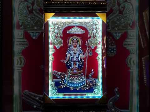 My photo frame LED light Diamond stone