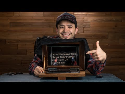 Easy DIY Teleprompter for iPad