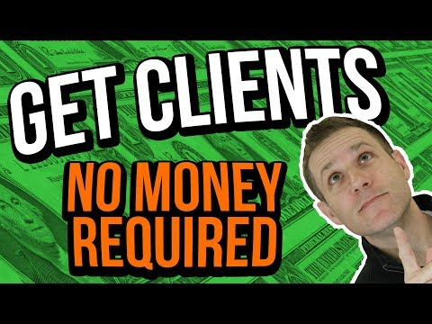 How To Land Clients Fast [With No Money]