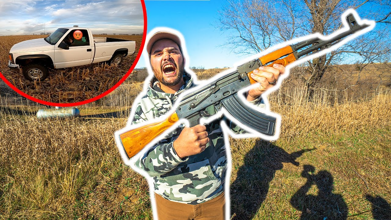 ANGRY Trespasser RUINS My DEER HUNT! (Confronting Him)