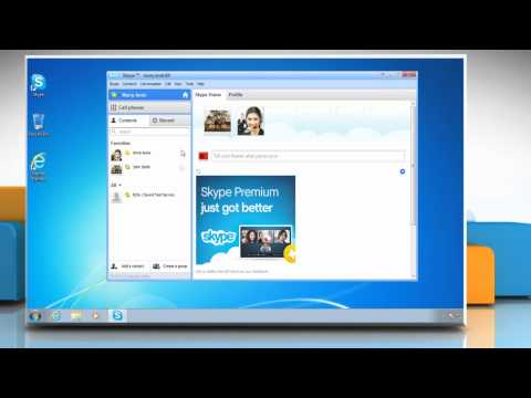 How to change the language on Skype®