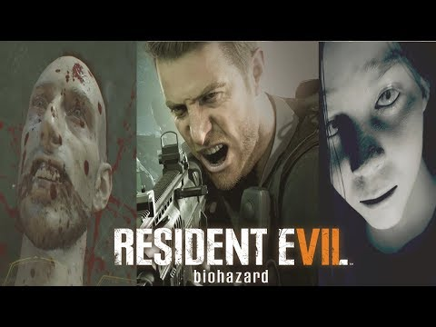 Resident Evil 7 Saga Movie - End of Zoe, Not a Hero, Banned Footage Vol 1, 2 All Cutscenes