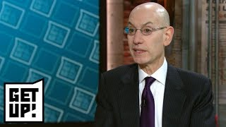 NBA Commissioner Adam Silver: Sports gambling should be regulated | Get Up! | ESPN