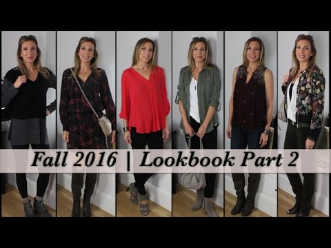 Fall Style Ideas for Mature Women! Fall 2016 Lookbook Part 2