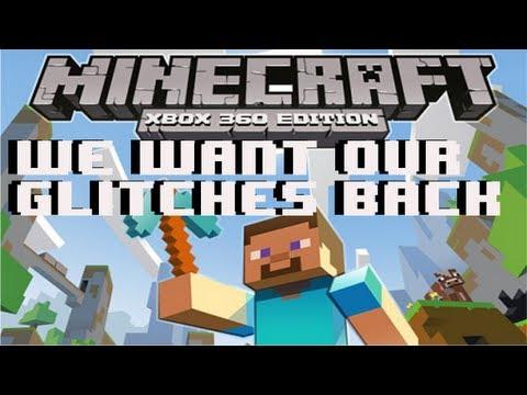 Minecraft XBOX 360 Edition - How to Glitch After Bug Fix (Restore Glitches)