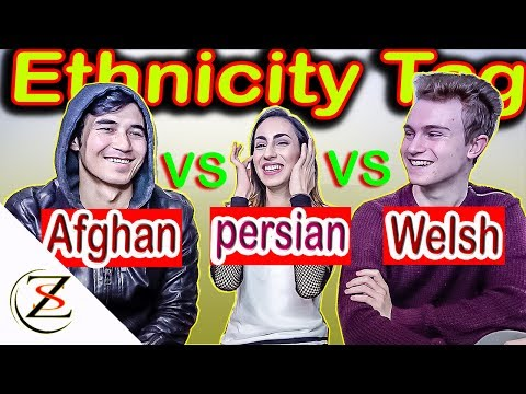 Get to know me? Ethnicity Tag Afghan Vs Ethnicity tag Persian - Zak Safari