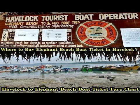 Where to Buy Elephant Beach Boat Ticket in Havelock Island Andaman | Elephant Beach | Havelock