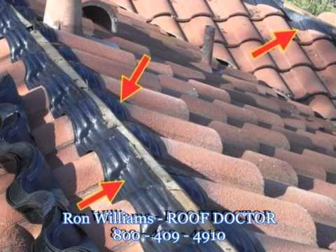 Tile Roof Repair and Roof Maintenance