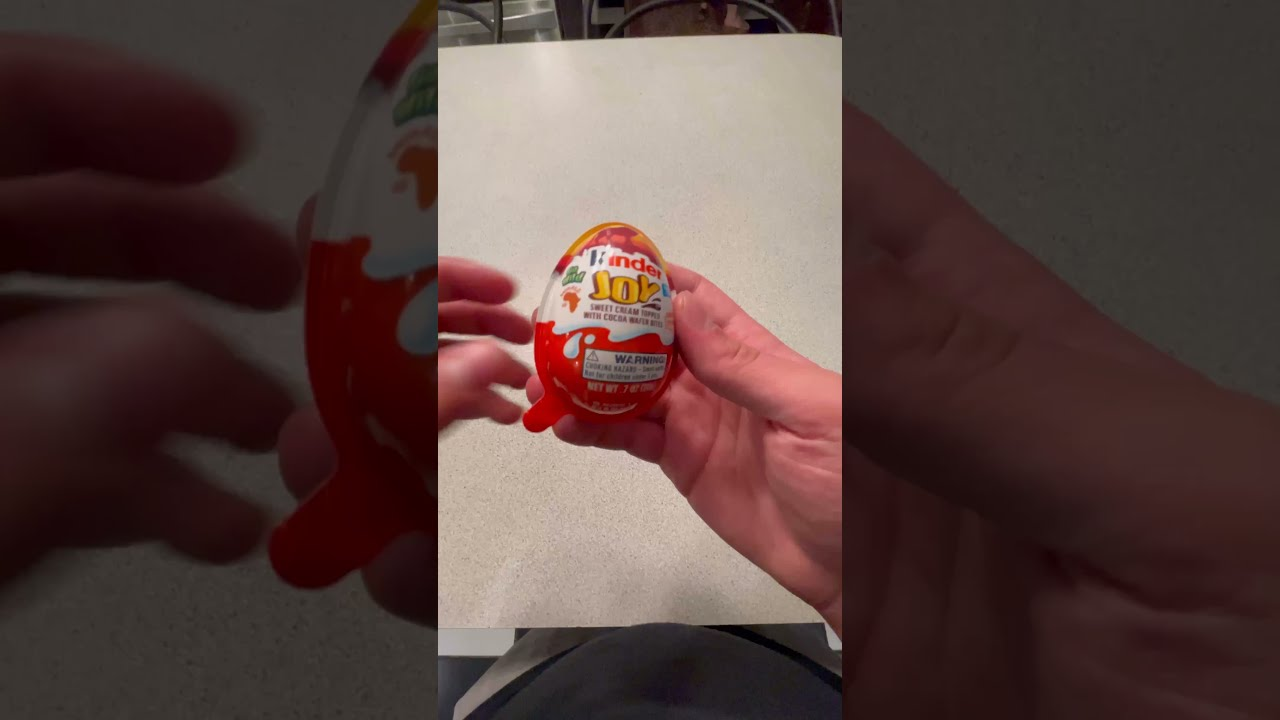 Kinder Eggs Are Illegal #shorts