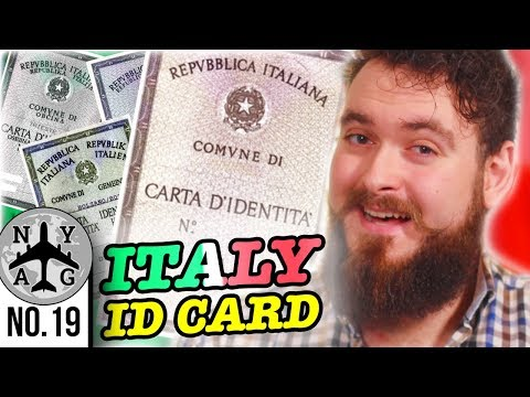 How to get an Italian Identity Card ( Carta d'Identità ) + Overview