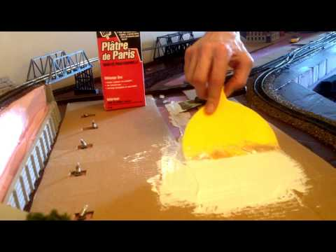 HO scale How to Build a Model Railroad Shelf Layout Update #11